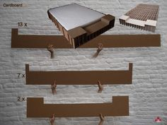 cardboard furniture by iax www.iax-design.com by Ioan Alexandra, via Behance