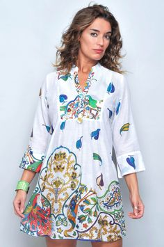 VESTIDO MANGA LARGA VC-80350 - H.H.G - Venta al por Mayor Simple Dresses, Nice Dresses, Casual Dresses, Short Dresses, Casual Outfits, Boho Fashion, Fashion Dresses, Womens Fashion, Bohemian Mode