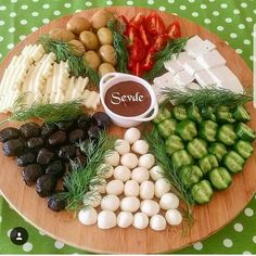 Food presentations – About Holiday Parties Party Food Platters, Cheese Platters, Food Design, Appetizers For Party, Appetizer Recipes, Breakfast Platter, Turkish Breakfast, Good Food, Yummy Food