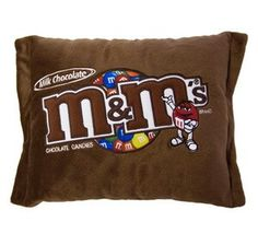 M&M's pillow