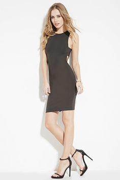Side-Cutout Dress