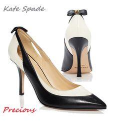 Kate Spade Black x White shoes