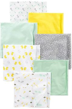 Simple Joys by Carter's 7-Pack Flannel Receiving Blankets (Infant) Crib Bedding Sets, Nursery Bedding, Girl Nursery, Cadeau Baby Shower, Fabric Softener Sheets, Baby Layette, Boy Newborn, Carters Baby Boys, Flannels