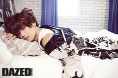 C.N Blue Min Hyuk - Dazed and Confused Magazine...