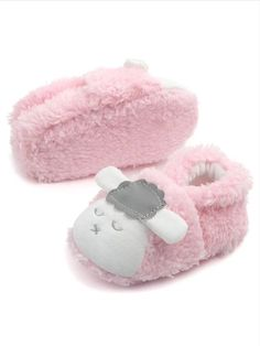 ACTLATI Infant Baby Boys Girls Unicorn Anti-Slip Slippers Warm Prewalker Crib Shoes