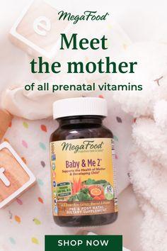 Meet the mother of all prenatal vitamins. Shop MegaFood prenatals now!