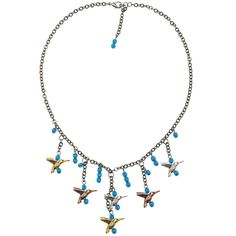 Hummingbird Song Necklace - Beading Projects & Tutorials - Beading Resources   Beadaholique
