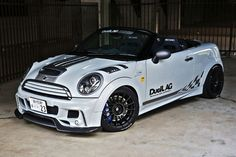 """Superturismo LM23 17"""" (Special Edition for Duell AG) on Mini Cooper R59 RoadStar by Duell AG from Japan"""