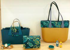 Borse O Bag colore Ottanio e Narcisus - Lei Trendy O Bag, Girl Bottoms, Leather Wallets, Bag Design, Diaper Bag, Toddlers, Diy And Crafts, Clock, Women's Fashion