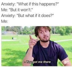 The anxiety is killing meeeee