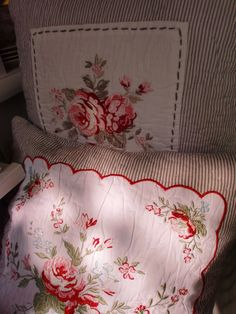 GreenGate Quilted Cushion Covers Vilma & Abelone