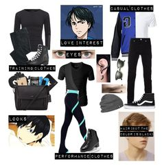 """❄️ Yuri!!! on ice oc 3 ❄️"" by gglloyd ❤ liked on Polyvore featuring TravelSmith, Wilsons Leather, Givenchy, Corneliani, Master & Dynamic, Incase, DKNY, Ray-Ban, Outdoor Research and GaÃ«lle Bonheur"