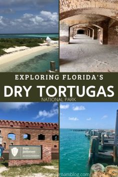 What to do and expect when visiting Florida's Dry Tortugas National Park and Fort Jefferson, the most remove park in the nation off the Florida Keys. #drytortugas #findyourpark #nationalparks #fortjefferson #floridakeys #travel Visit Florida, Florida Vacation, Florida Travel, Florida Keys, Usa Travel, National Park Passport, National Parks, Great Places, Beautiful Places