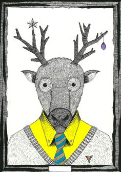 Cool illustrations by Duane Hosein. More here: http://duanehosein.com/