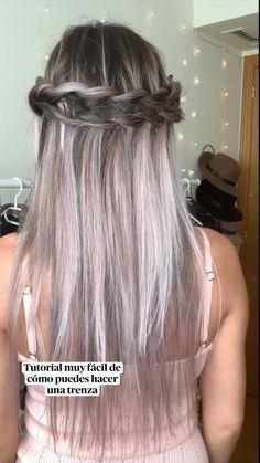 Ball Hairstyles, Modern Hairstyles, Scarf Hairstyles, Long Natural Hair, Long Gray Hair, Natural Hair Styles, Easy Homecoming Hairstyles, Pagent Hair, Triangle Hair
