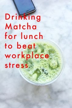 f you're struggling to handle workplace stress then you might like this article on how Matcha can change your Alpha brain waves to improve calm and focus.