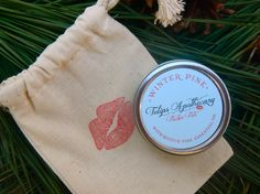 Top Gift for Christmas #beauty #lipbalm  https://www.etsy.com/listing/169246186/scotch-pine-lip-balm-tin-with-essential?ref=shop_home_active
