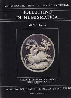 BOLLETTINO DI NUMISMATICA  MODELLI IN CERA DI BENEDETTO PISTRUCCI  2 VOLUMI 1990