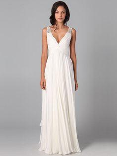 Simple #second #wedding #dress