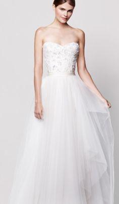 Roses wedding dress