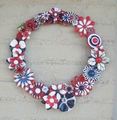DIY: Brooch Wreath