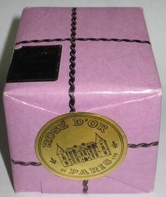 RARE Vintage NUIT D'AMOUR ROSE D'OR Perfume Paris FRANCE Sealed In Original Wrap #NuitDAmour
