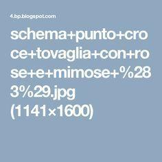 schema+punto+croce+tovaglia+con+rose+e+mimose+%283%29.jpg (1141×1600)