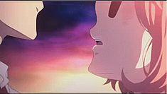 Kyoukai no kanata mirai akihito kiss