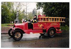 Spotswood Fire Department, Spotswood, NJ - 1921 Model-T - Spotswood Enterprise Hook & Ladder Company.