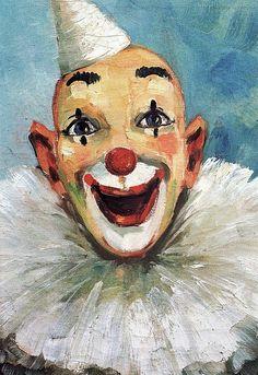 Clown Painting - A. Dubsky