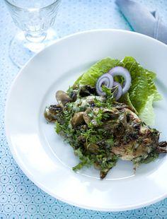 Kalkunfad med fyld Lækker ret med kalkun og lidt grønsager fra Familie Journals Slankeklub