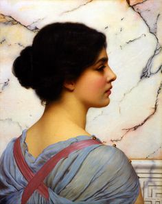 The Athenaeum - Bellezza Pompeiana (John William Godward - )