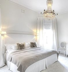 Beautiful Bedrooms Serene Bedroom Gray Bed Master