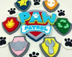 Afbeeldingsresultaat voor paw patrol cake topper