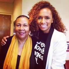 Author, activist, and all around badass Janet Mock with legendary feminist bell hooks http://www.oneequalworld.com/profiles/janet-mock/