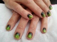 Nail idea using additives/mica powders
