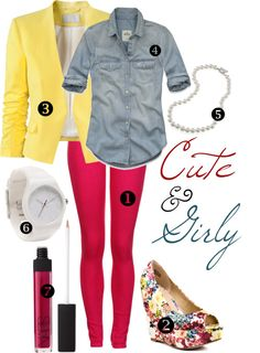 cute outfit ideas on the blog! #pink pants