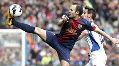 El control de Iniesta que dejó anonadado al Camp Nou