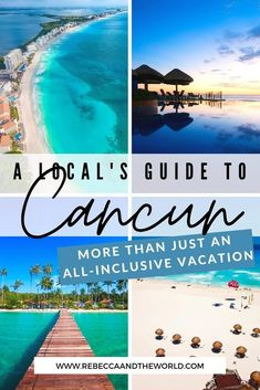 Think Cancun is just all-inclusive resorts and laying by the pool all day? Think again! Check out this list of the best things to do in Cancun, Mexico - some things you must do as well as some off-the-beaten-path experiences. | Mexico | Things To Do in Cancun | Cancun Vacation | Mexico Vacation | What To Do in Cancun | Cancun Travel | | Where to Eat in Cancun | Where to Stay in Cancun | #mexicotravel Mexico Travel, Cancun Mexico Vacation, South America Travel, All Inclusive Resorts, Amazing Destinations, Travel Around The World, Travel Inspiration, Things To Do, Travel Photography