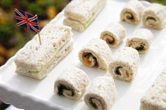 English High Tea Guest Dessert Feature