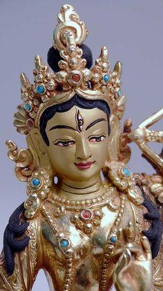 "5"" Red Tara Statue - New Traditional Statues by Tibetan Treasures"