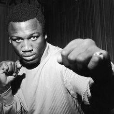 Smokin Joe Frazier. This man was an animal in the ring. Forever he will be synonymous with Ali