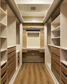 ankleidezimmer 10 ideas to have a dressing room of envy Tinkling wind chimes Article Body: W Narrow Closet, Walk In Closet Small, Small Closets, Open Closets, Dream Closets, Wardrobe Room, Wardrobe Design Bedroom, Master Bedroom Closet, Bedroom Closets