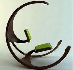 Rocking Wheel Chair.  Amazing - #
