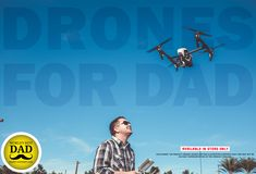 Dad doesn't want another tie, card or soap-on-a-rope this year. Get him something different and take off on drones. Treat Dad and Yourself too. Surprise him with a modern gift.