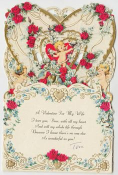 A Valentine For My Wife :: Archives & Special Collections Digital Images :: 1952-circa 1960