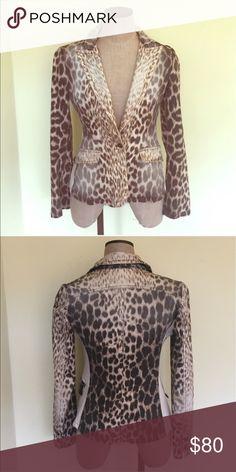 Roberto Cavalli blazer Leopard print XS blazer Roberto Cavalli Jackets & Coats Blazers