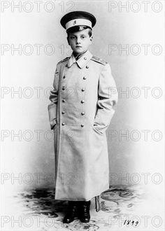 Grand Duke Dimitrii Pavlovich of Russia (future conspirator in the murder of Grigorii Rasputin). Son of Grand Duke Paul, Alexander III's brother