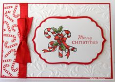 Candy Cane Christmas by Waratah - Cards and Paper Crafts at Splitcoaststampers