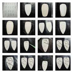 Lieve lezers, Vandaag vertel ik jullie hoe ik deze oorbellen van zilverklei heb gemaakt. Het is niet moeilijk, alleen een vaste ... Metal Clay Jewelry, Polymer Clay Jewelry, Jewelry Art, Jewellery, Clay Tools, Precious Metal Clay, Polymer Clay Projects, Clay Tutorials, Clay Art